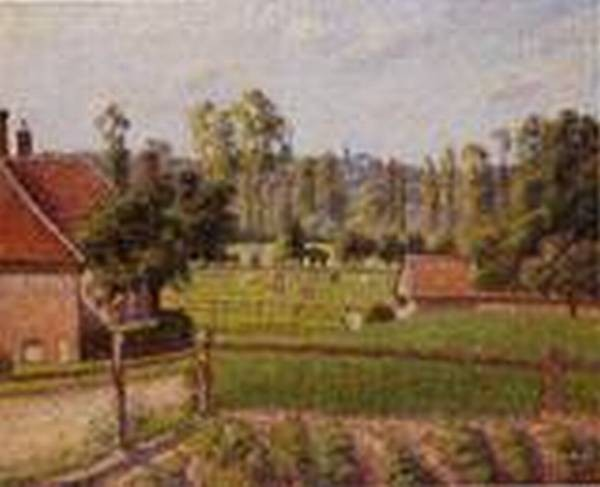 A Meadow in Eragny 1889